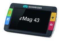 eMag 43 Die perfekte elektronische Lesehilfe für unterwegs oder zuhause – leicht, kompakt, mobil und leistungsstark