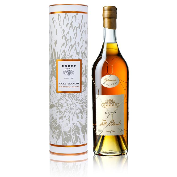 "Cognac ""Godet Folle Blanche "" original 40% Vol, 0,7l"