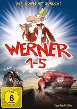 Werner 1-5 - Königsbox, 5 DVDs