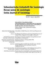 Vulnerabilität in Gesundheitsverläufen: Lebenslaufperspektiven