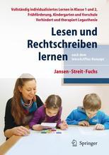 Lesen und Rechtschreiben lernen nach dem IntraActPlus-Konzept | Jansen, Fritz; Streit, Uta; Fuchs, Angelika