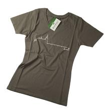 Schloß Ort T-Shirt, Damen, Baumwolle, Farbe: olive. Bei Lederbekleidung Paschinger kaufen.