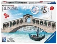 Ravensburger 125180 Puzzle: 3D Rialto Brücke 216 Teile
