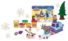 Hasbro Play-Doh Disney Frozen - Die Eiskönigin Annas Schlitten
