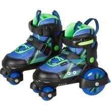 New Sports Inliner''Beginner'',blau-grün,Gr.26-29