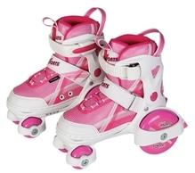 New Sports Inliner''Beginner'',pink-weiß,Gr.26-29