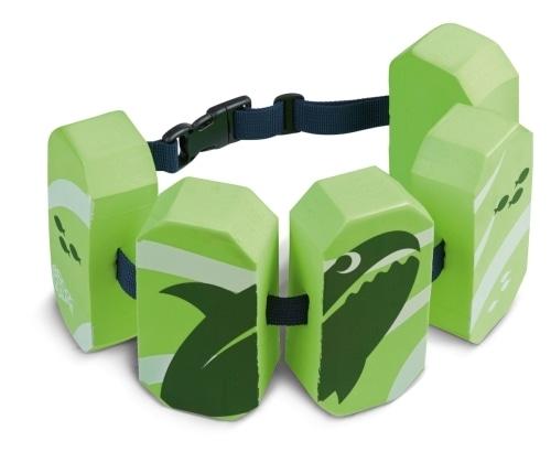 BECO Schwimmgürtel 5Pads Sealife grün, 2 - 6 Jahre
