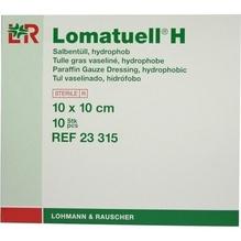 Lomatuell H Salbentüll 10x10 cm steril 10 St