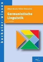 Germanistische Linguistik   Busch, Albert; Stenschke, Oliver