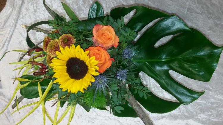 Sonnenblumen Strauß