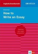How to Write an Essay   Aczel, Richard