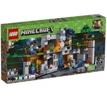 LEGO® Minecraft? 21147 Abenteuer in den Felsen, 644 Teile