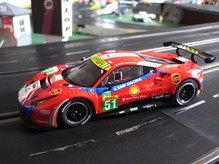 30848EVO Carrera Evolution 132 Ferrari 488 GTE AF Corse No. 51