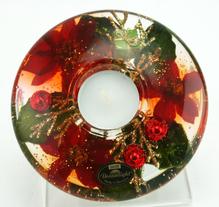 Gilde Teelichthalter Dreamlight Christmas 13cm 71049-6