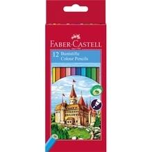 Faber-Castell Farbstift CASTLE 111212 sortiert 12 St./Pack.