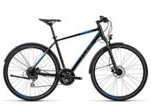 Crossrad Curve Allroad 58 cm black grey blue