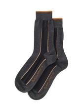 Nudie Jeans Socks 'Streifen' grau Socken