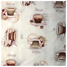 Dekostoff Macchiato - Teatime