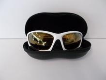 Sonnenbrille RS mit Polgläsern weiß