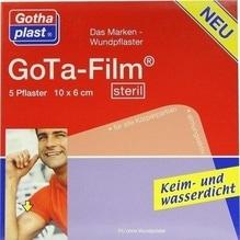 Gota Film steril 6x10 cm Pflaster 5 St