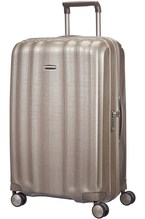SAMSONITE LITE-CUBE SPINNER 76/28 IVORY GOLD