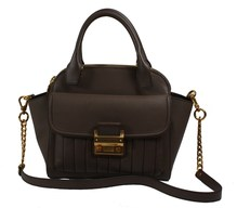 Matthew Harris Aminia Double Zip Handbag light taupe