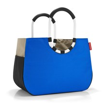 Reisenthel Loopshopper L  patchwork royal blue