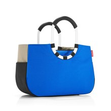 Reisenthel loopshopper M patchwork royal blue