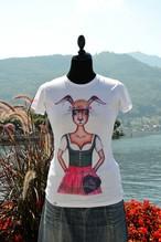 Haasen T-Shirt 'Mei Dirndl'
