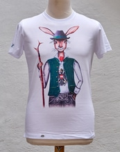 Haasen T-Shirt 'Trachtenhase'