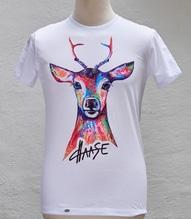 Haasen T-Shirt 'Bock auf Buntes'