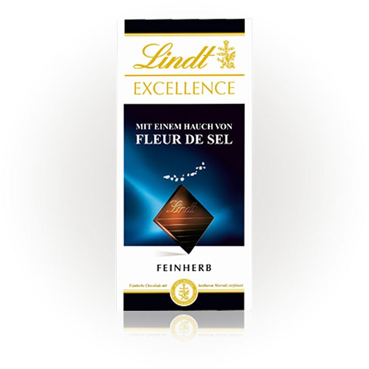 """Lindt """"Excellence Fleur de Sel"""" (Aktion), 100g"""