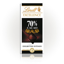 Lindt 'Excellence 70%', 100g