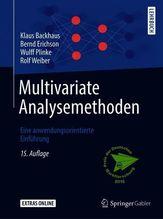 Multivariate Analysemethoden   Backhaus, Klaus; Erichson, Bernd; Plinke, Wulff