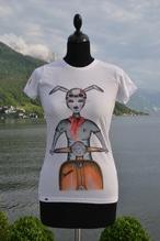 Haasen T-Shirt 'Vespa orange'