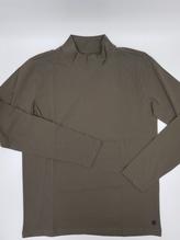 Pierre Cardin Futureflex Shirt langarm oliv mit Stehkragen bei Mode Schönleitner in Gmunden