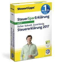 SteuerSparErklärung Lehrer 2018