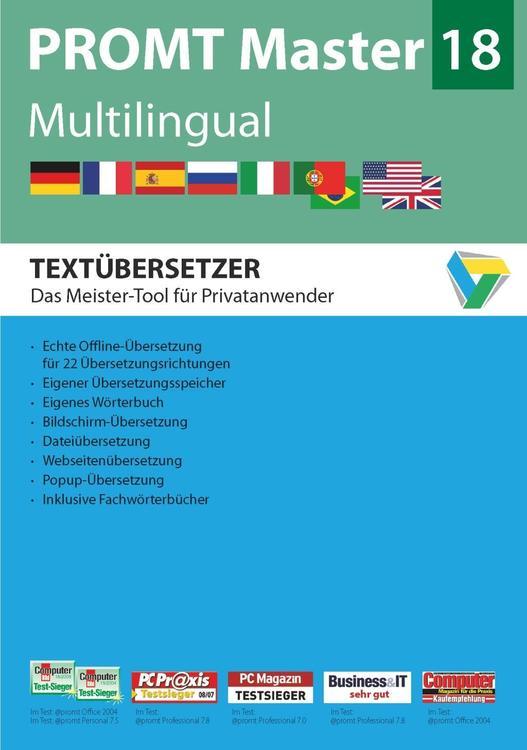 PROMT Master 18 Multilingual
