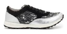 Sneakers DAX silver metailc Sam Edelman