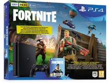 PS4 Slim Konsole (500GB) Fortnite Royal Bomber