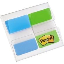 Post-it® Haftnotiz Index Strong 686-AL 25,4x43,2mm tür. lgr. 2x8