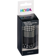 HEYDA Deko Tape Colour Code 3584590 sortiert 4 St./Pack.
