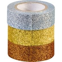 HEYDA Glitter Tape 3584374 ku/go/si 3 St./Pack.