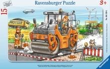 Ravensburger 061396 Puzzle  Baustellenszene  15 Teile