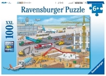 Ravensburger 106240 Puzzle Baustelle am Flughafen 100 Teile
