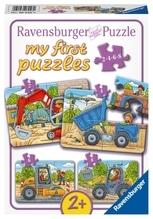 Ravensburger 69460 Puzzle: Meine liebsten Baustellenfahrzeuge 8 Teile