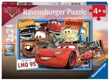 Ravensburger 78196 Puzzle: Disney Cars 2x24 Teile