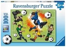 Ravensburger 106936 Puzzle: Im Fußballfieber 150 Teile