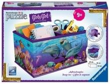 Ravensburger 121151 Puzzle: 3D Box - Unterwasser Girls 216 Teile