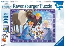 Ravensburger 107308 Disney Frozen - Die Eiskönigin Familienzauber, 100 Teile